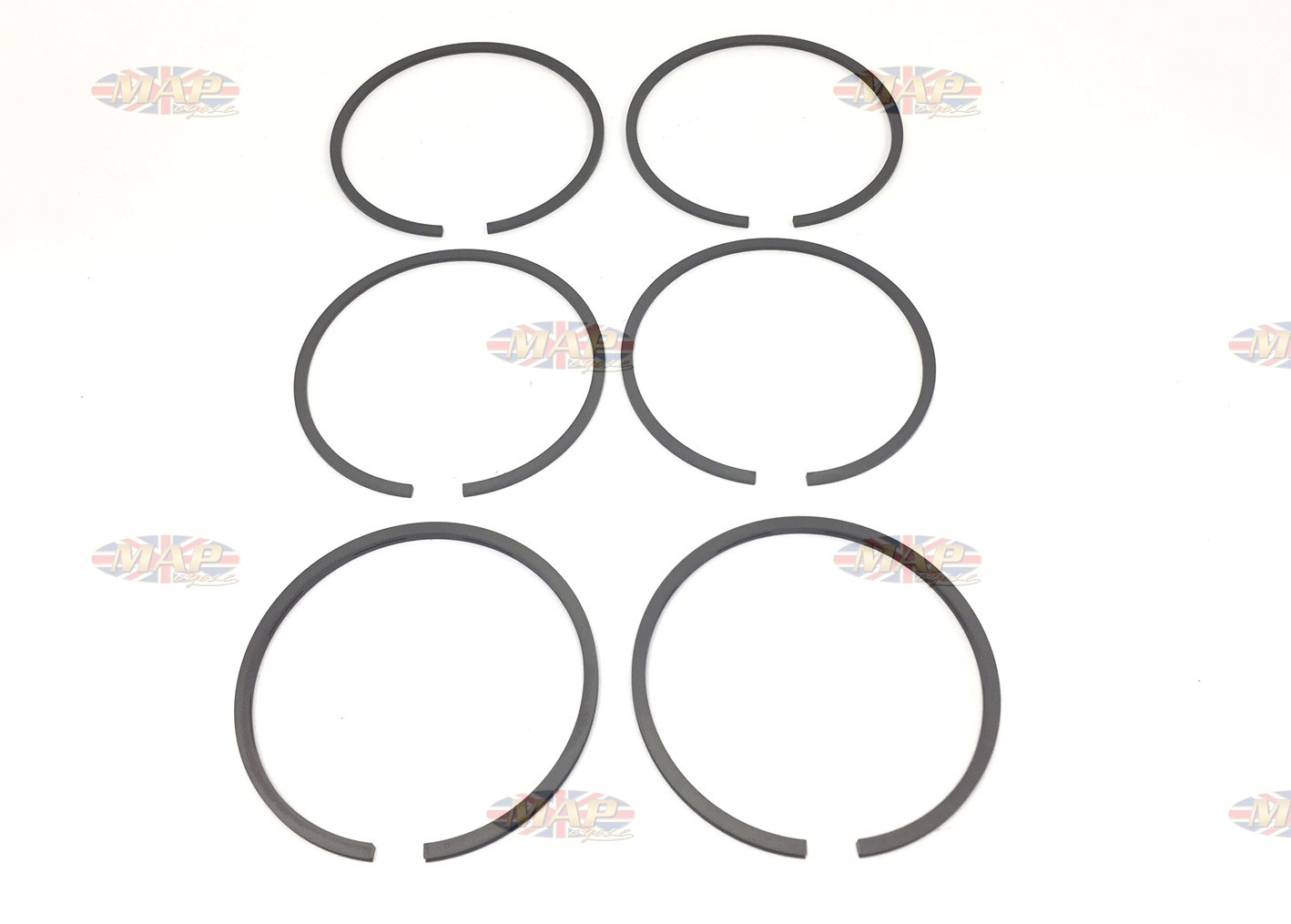 Top Quality Piston Piston Ring Set for BSA A65 650cc +.040 R17350/E040