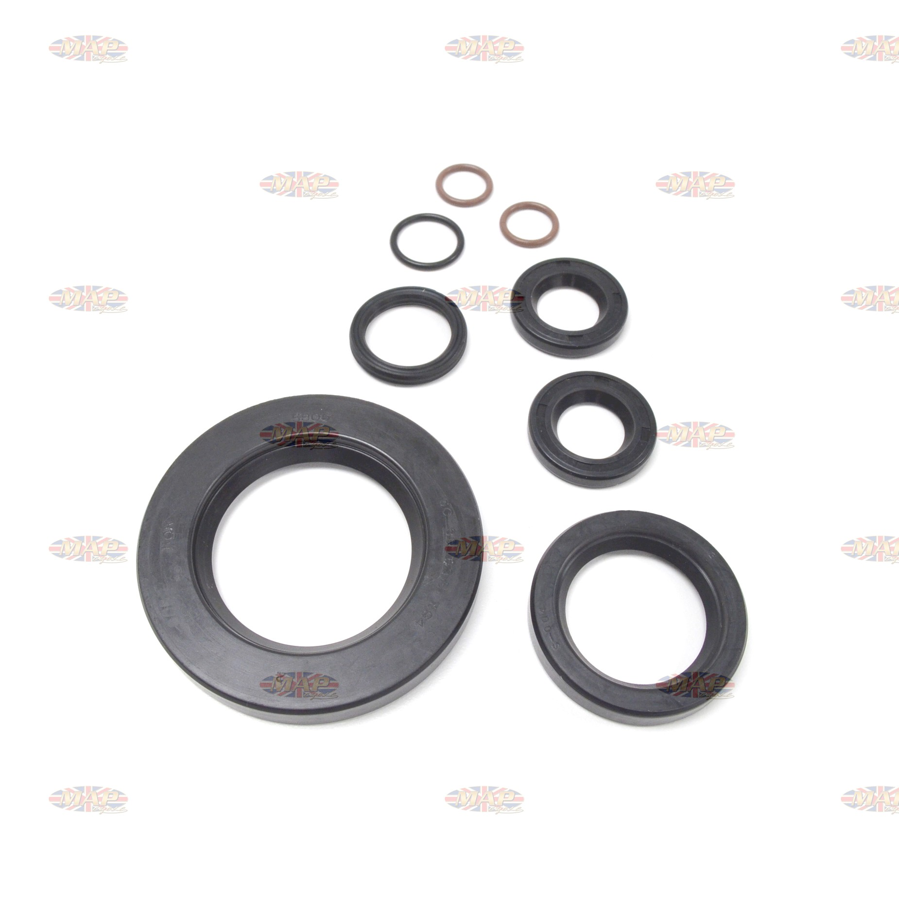 Triumph 650 1970-Later 4 Speed Seal Kit MAP0204/C