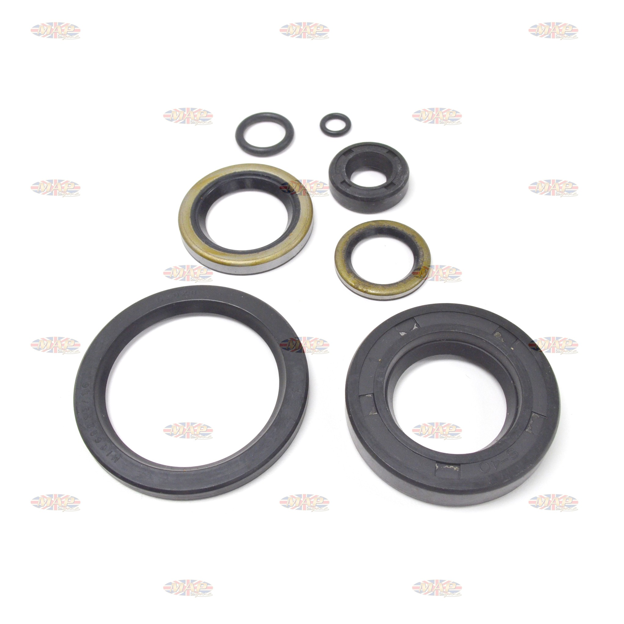 Norton MKIII Gearbox & Primary Seal Kit MAP0223