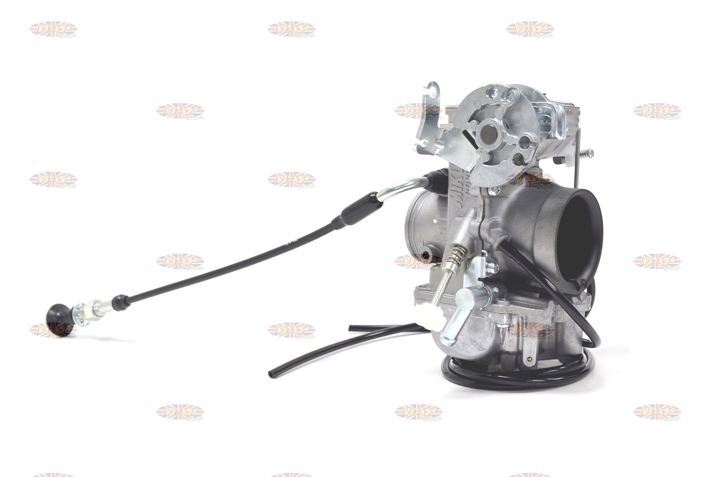 Mikuni TM40 Pumper Flat Slide 40mm Pumper Carburetor