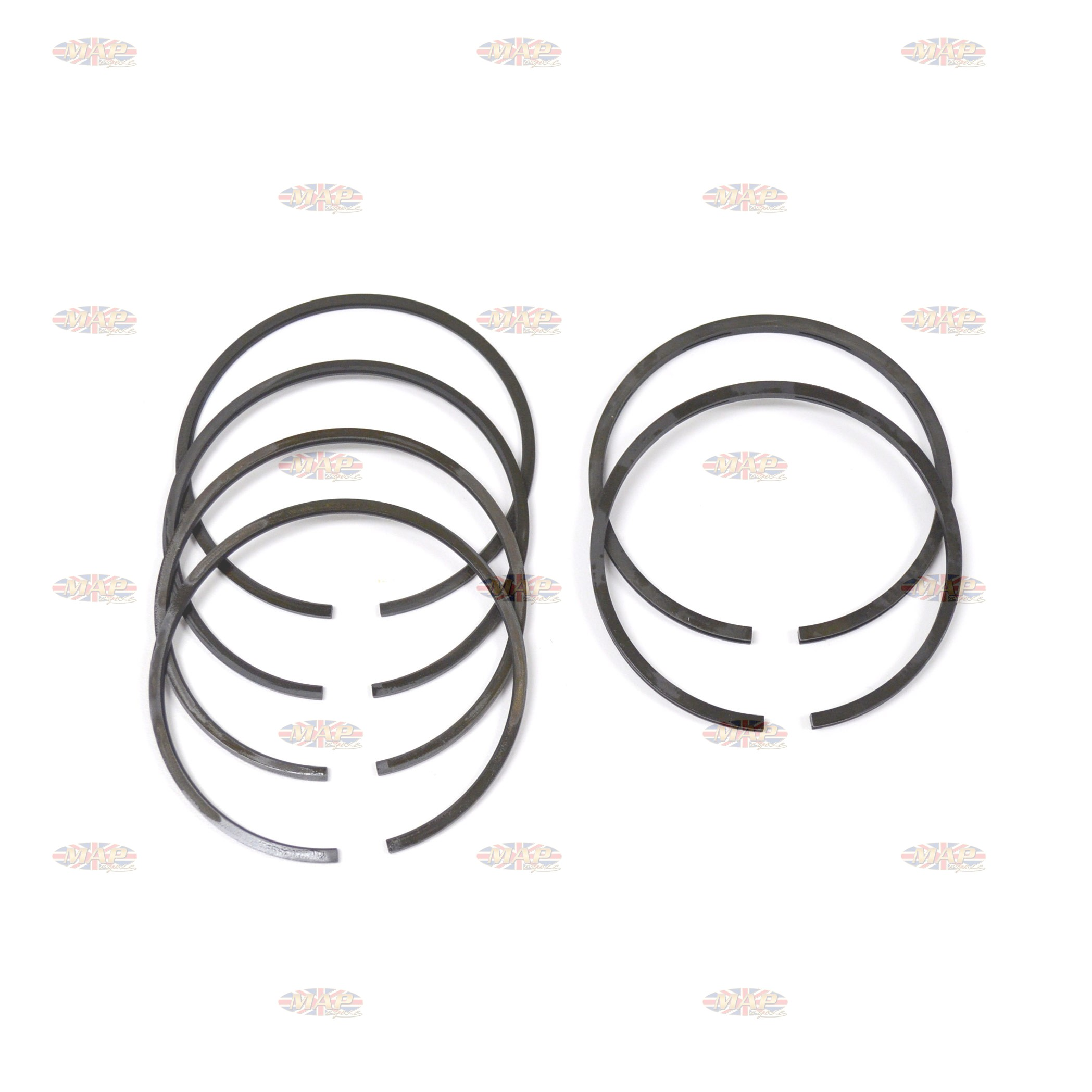 Budget Piston Ring Set for BSA A65 +.060 R17350/T060