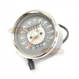 Smith Style Gauge Triumph Norton Atlas Speedometer 2:1 58-43647