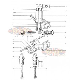 Oilpump, Manifold, Tappets 1968-TR6-T120-Oilpump, Manifold, Tappets
