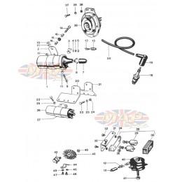 Coils, Horn, Rectifier, Zener 1968-TR6-T120-Coils, Horn, Rectifier, Zener