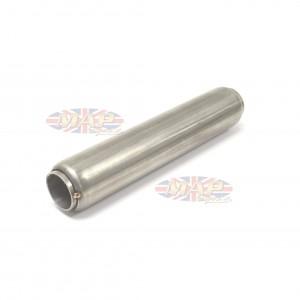 "Stainless Steel Glass Pack Exhaust Pipe Insert Baffle Muffler 2"" 009-0178"