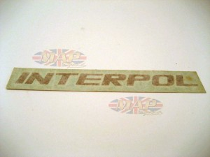 DECAL/  INTERPOL 06-2215