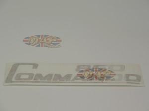 DECAL/  850 COMMANDO  GOLD (OE PEEL OFF) 06-5097
