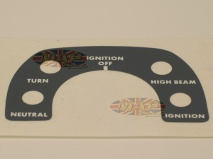 DECAL/ INSTRUMENT CONSOLE 06-5722