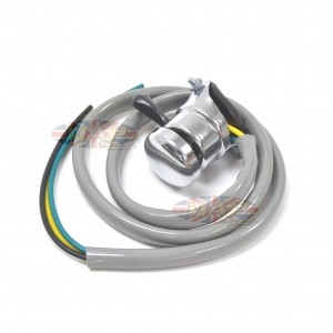 Lucas Replica Handlebar Switch Horn/Lights Gray Wire Cover 31563/E