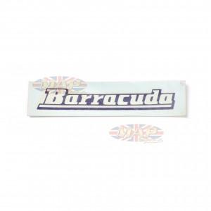 DECAL/ BARRACUDA BSA: 40-8145