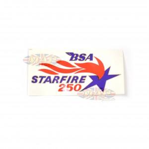 DECAL/ STARFIRE BSA 40-9185