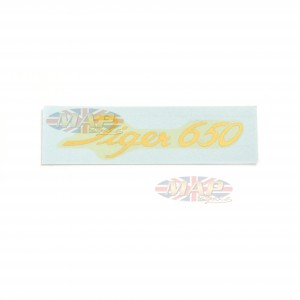DECAL/  TIGER 650  (LARGE SCRIPT) 60-1918