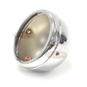 "Lucas-Style 5-3/4"" Headlight Shell Kit - Chrome 66-65073"