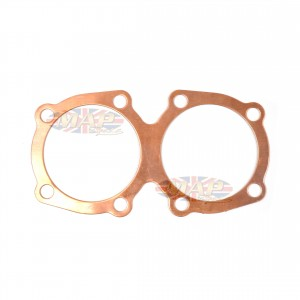 Triumph 650 II's Pre-Unit to-1955 Deadsoft Copper Head Gasket 70-2905