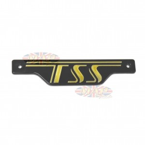 Triumph 1982-83 TSS 750 Side Cover Panel Badge 83-8272
