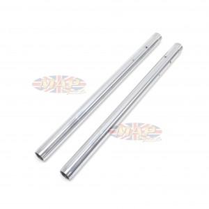 Triumph 1960-63, 350/500cc Chrome Fork Tubes (Pair)   97-1123/P