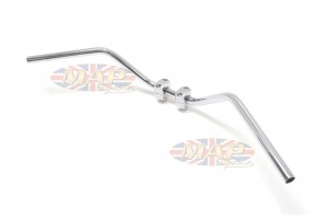 """Triumph T120 TR6 Knurled and Drilled Handlebar 7/8"""" 97-1870/E"""