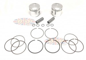 Norton Commando, 750cc Stock-Rod, Best Quality, Billet Piston Set MAP9030A-9031A-BILLET