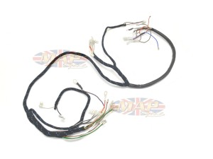 BSA 1968-69 A50 A65 English-Made 12-Volt Wiring Harness H013