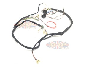 BSA 1962-65 A65 English-Made 6-Volt Wiring Harness H014