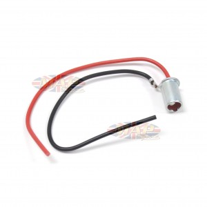 Universal Motorcycle Warning Light Bulb Holder With Wiring HP003