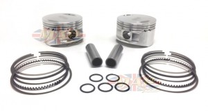 Norton Commando 850cc Long-Rod Billet Piston Set MAP9037A-9038A-BILLET