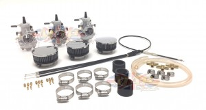 Triumph T160 & BSA Triples Mikuni Conversion Kits TRI-TRIP160-KIT