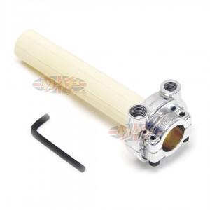 Honda Style Push/Pull Throttle Assembly - Polished 44-97771