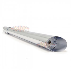 "Cafe Racer, Bobber, Tracker 24"" Slash Cut Universal Muffler  80-84020"