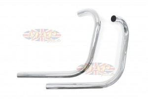 BSA A50 A65 Replica Replacement Exhaust Head Pipe Set 180133 180133