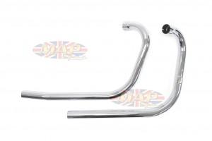 Triumph 650 Replica Exhaust Head Pipes 181339 181339