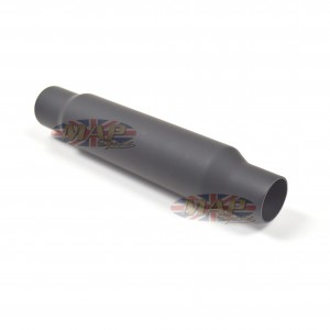 Muffler - Shorty Universal Flat Black 80-03310B