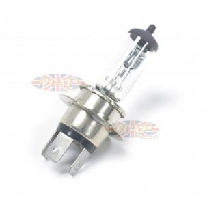 Motorcycle Headlight 3-Prong Bulb H4-P46t 60/55 Watt 12 Volt Quartz Halogen R463