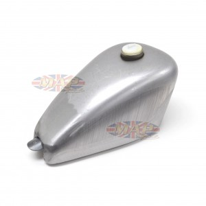 Custom Shallow Tunnel Gas Tank Bare Steel S7501