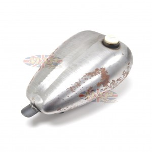 Mustang Custom Smooth Gas Tank Bare Steel 3.3G S7509