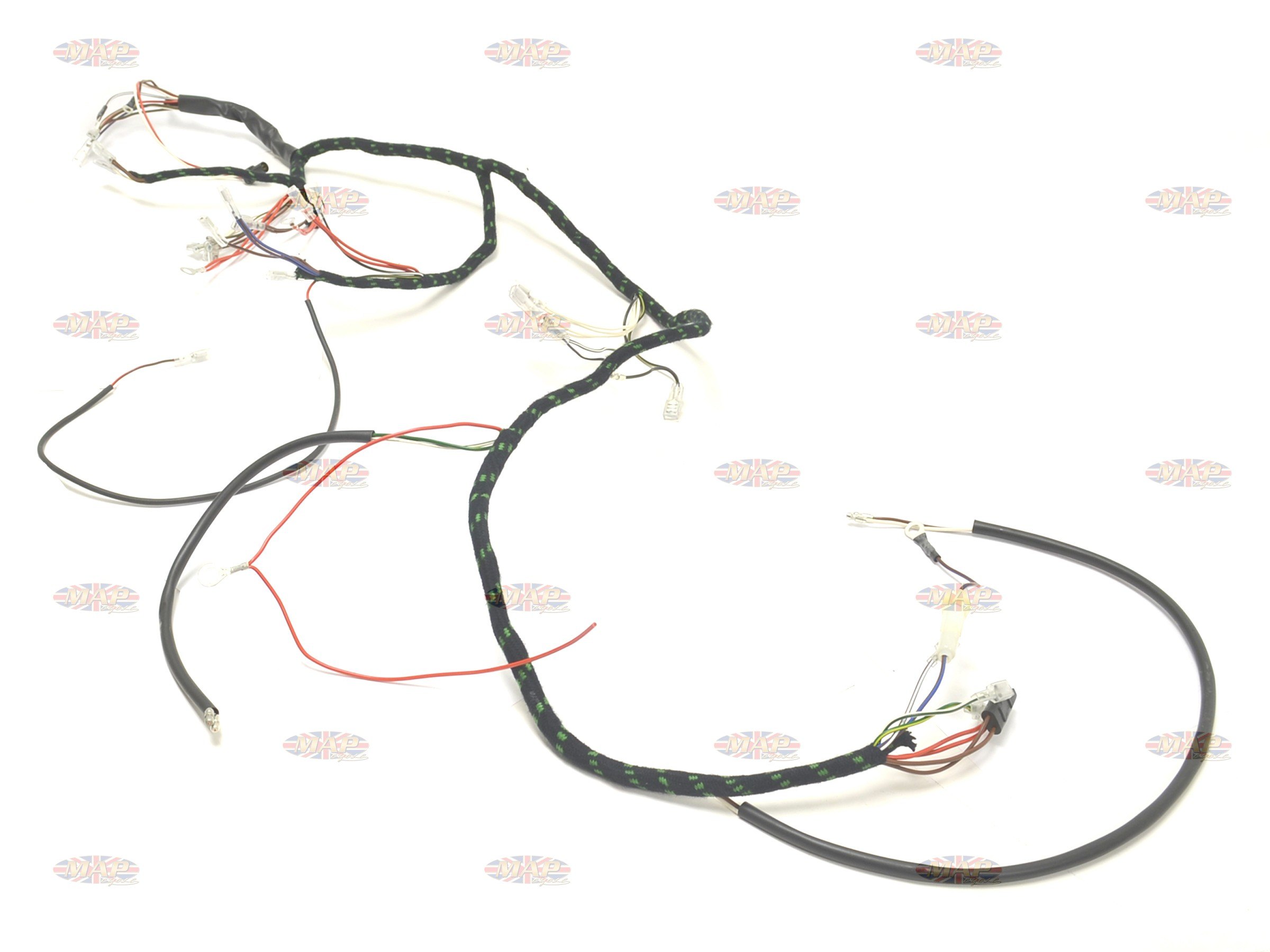 tr6 wiring harness   18 wiring diagram images