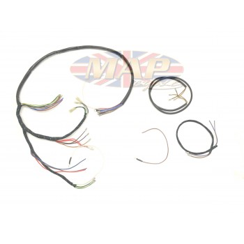 triumph 1960 62 t120 tr6 uk made high quality wiring harness d95 triumph 1960 62 t120 tr6 uk made high quality wiring harness triumph t140 wiring harness at couponss.co