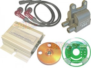 Pazon Competition Electronic Ignition for 1180-Degree Crank For Triumph BSA Norton MAP4424