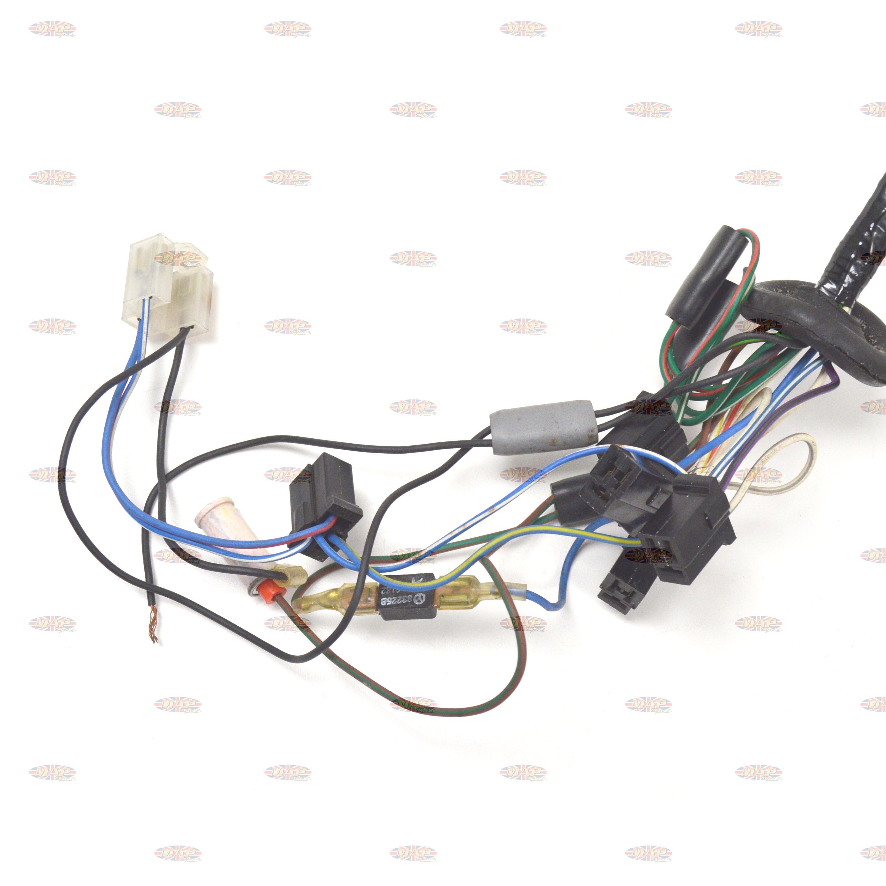 triumph wiring harness triumph 1981-82 t140 tsx factory lucas wiring harness