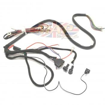 triumph 1957 63 5ta 6t 3ta oe factory lucas wiring harness