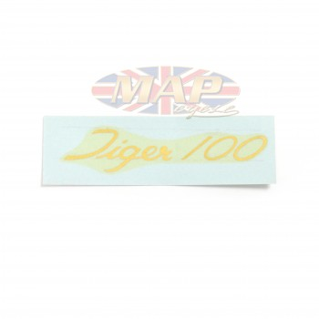 DECAL/ TIGER 100 60-0675