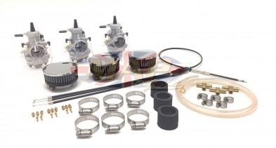 Triumph Triples T150-T160 Mikuni Conversion Kits TRI-TRIP150-KIT