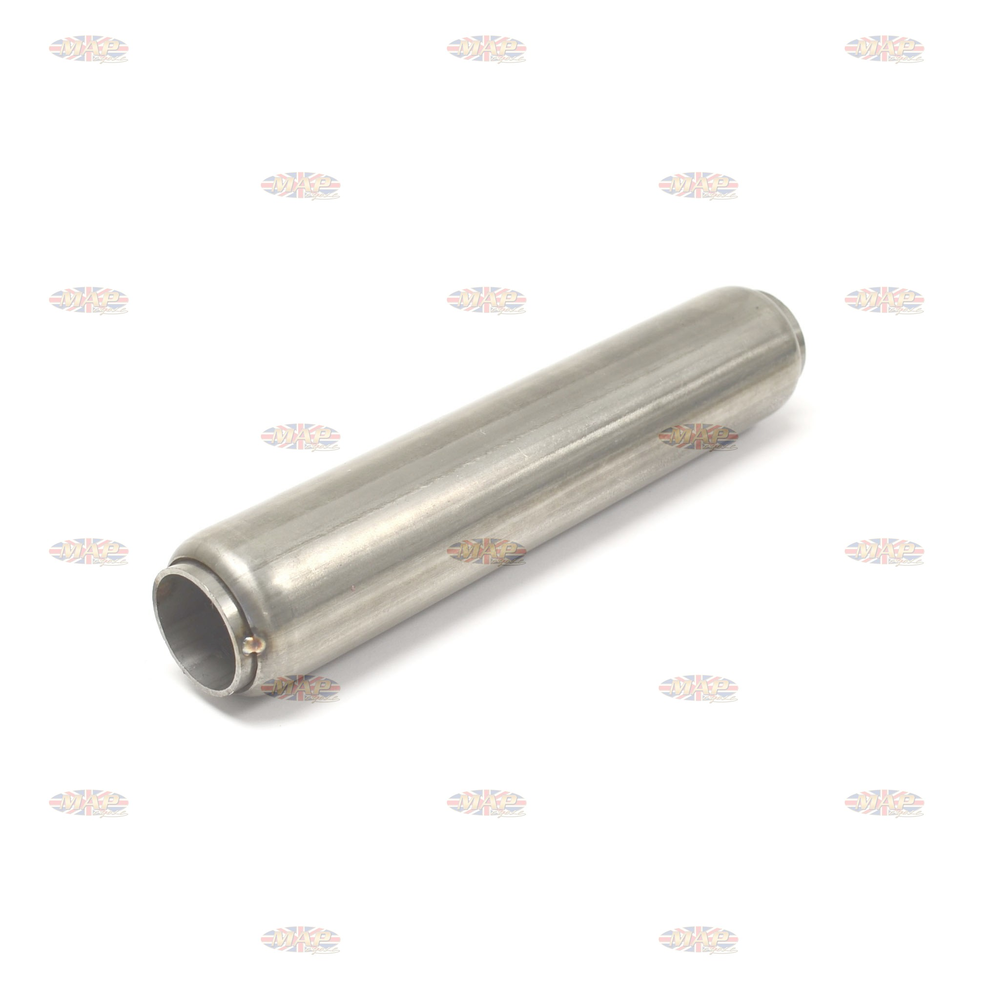 "Stainless Steel Glass Pack Exhaust Pipe Insert Baffle Muffler 2"" 009-0178"