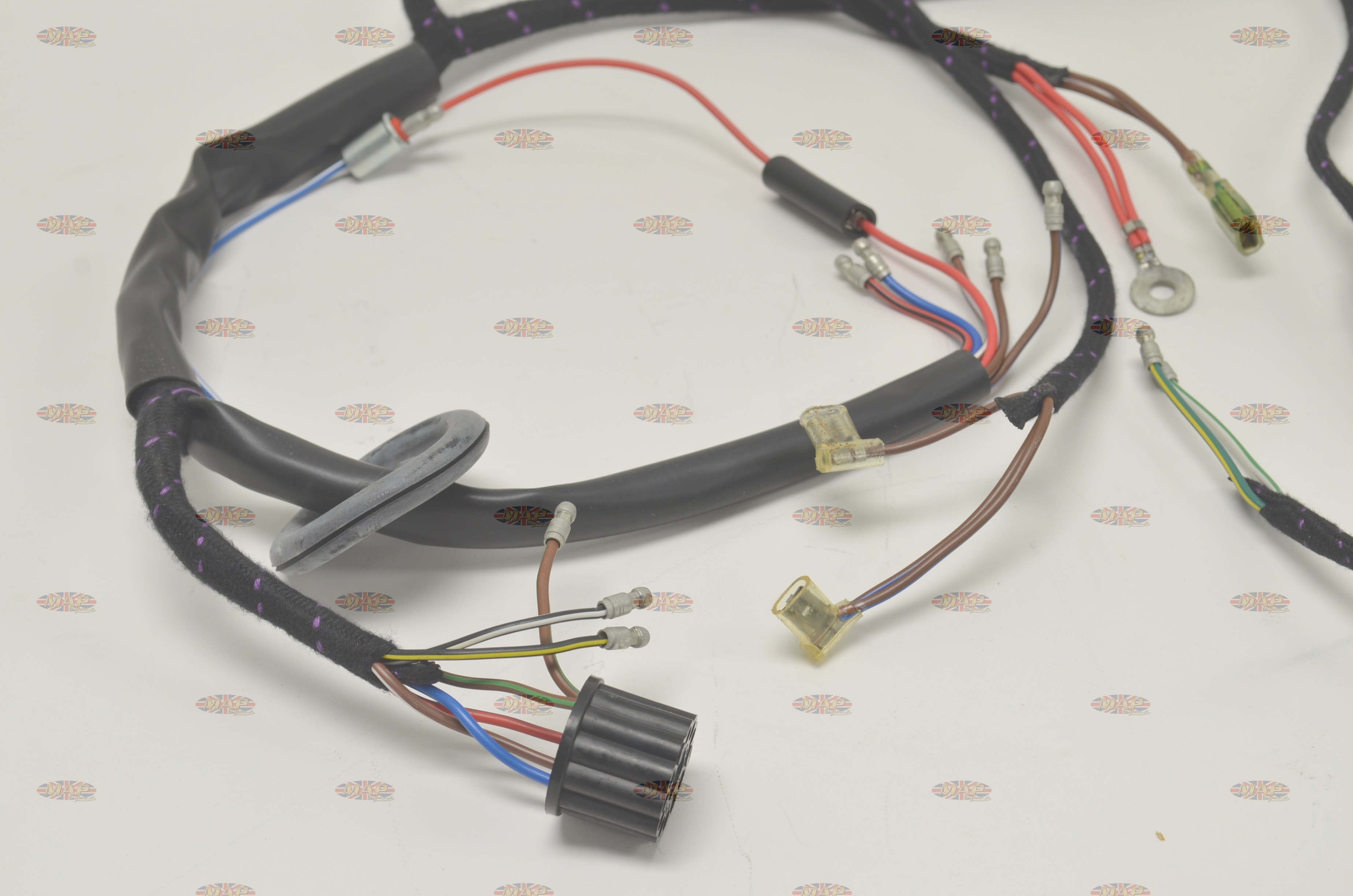 Mercury Outboard Wire Harness Wiring Library Norton 1968 70 P11 650 Quality Uk Made Rh Mapcycle Com