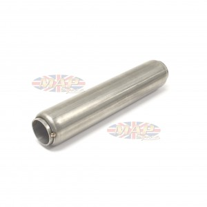 "Stainless Steel Glass Pack Exhaust Pipe Insert Baffle Muffler 1-3/8 1.375"" 009-0217"