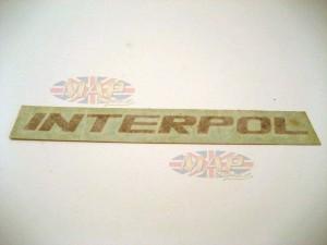 DECAL/  INTERPOL 06-2215