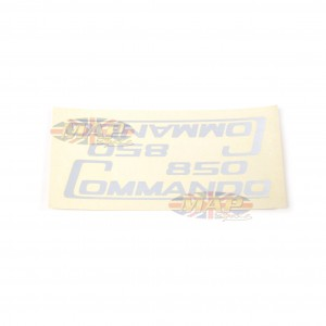 DECAL/  850 COMMANDO  SIL (WATER TYPE) 06-5095/E