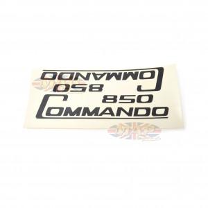 DECAL/  850 COMMANDO  BLK (WATER TYPE)pr 06-5096/E