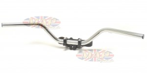 Handlebar-BSA C15/ B40 with welded on lever lugs 40-4956/P