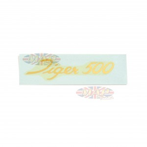 DECAL/  TIGER 500  (LARGE SCRIPT) 60-1917